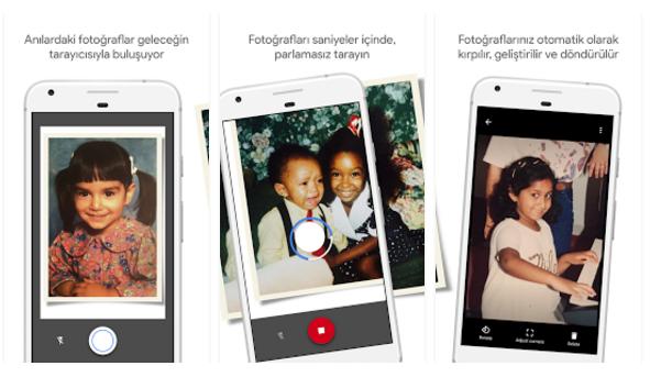 Google, PhotoScan Uygulamasını Güncelledi