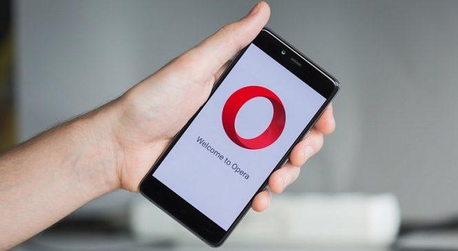 Opera Tarayıcısının Android Uygulaması