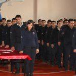Dinar'da ceza infaz koruma memurları yemin etti